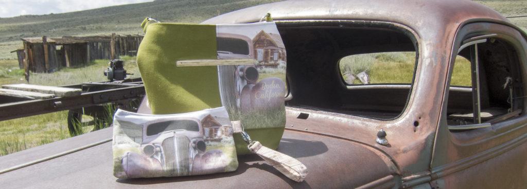 Bodie Day vintage car handmade bags