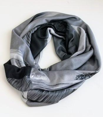 Sand Dunes Infinity Scarves -  black & white